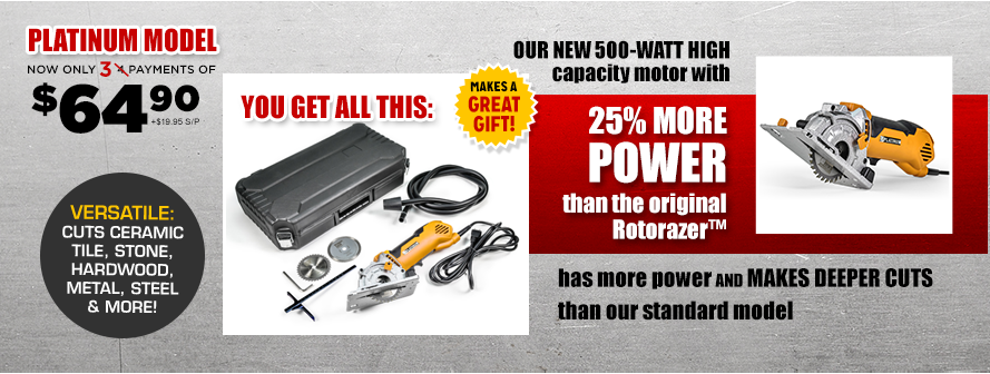 Rotorazer™ Platinum Offer